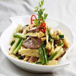 Măng trúc xào gan heo- thực phẩm quý bổ dưỡng